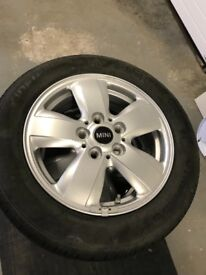 Alloy wheels for Mini One