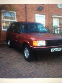 RANGE ROVER 2.5 DSE AUTOMATIC FOR SALE