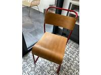 Vintage School Stacking Chairs