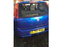 Blue fiat grande for sale, in good condition. Available for viewings and a quick sale