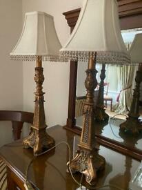 Antique looking lamps