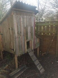 Chicken coop - home built