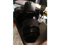 sony A330 dslr camera bundle