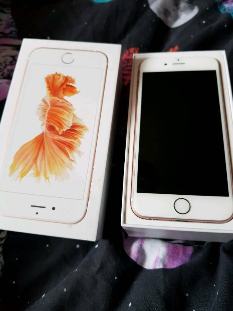 IPhone 6s Rose Gold 16Gb EE