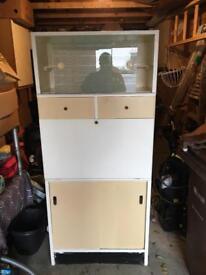 Kitchen cupboard larder pantry cabinet (prestige)