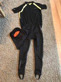 Muddy fox small padded trousers and cycling jersey with wiggle padded medium shorts