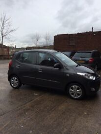 Hyundai i10 1.2 active cat d 19k 2 owners £20 a year road tax brilliant little car