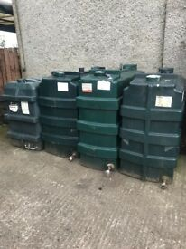 SLIMLINE OIL TANKS FROM £55