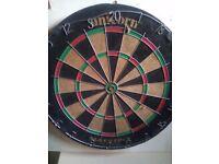 Used dartboard