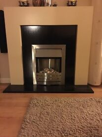 Modern Electric Fire Suite Fireplace