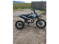 125cc Stomp pitbike with big wheels