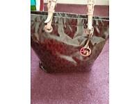 Genuine Michael kors leather handbag