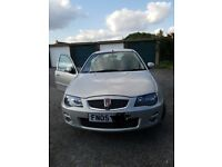 Rover 25 low mileage. Mot till april 2018. Some serive history