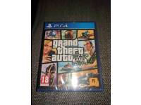 GTA 5 brand new and sealed PS4