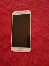 Samsung S6 32GB White Unlocked - Perfect Condition