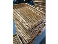 Wicker baskets job lots - clearance of bankrupt stock for shops etc