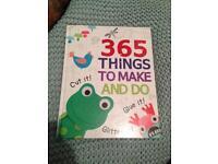Hardback 365 Things to make and do