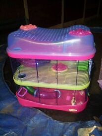 Imac 3 tier hamster cage