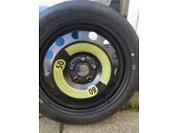 spare tyre from mk2 leon will fit audi seat volfswagon etc