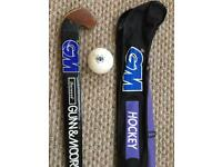 GM Hockey Stick, case and ball