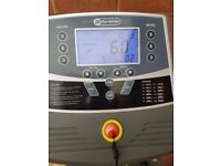 Running machine Running machine with speed and incline settings. Very good condition