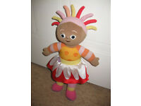 IN THE NIGHT GARDEN - SINGING / TALKING UPSY DAISY - IMMACULATE CONDITION - new batteries