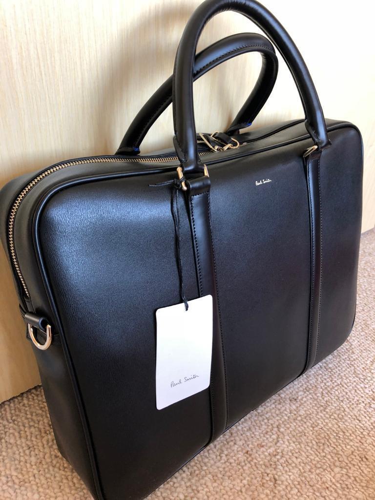 Paul Smith Leather Folio Bag  eb27262e7c036