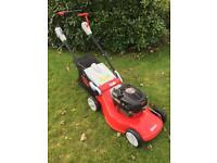 Big alloy deck self propelled lawnmower top of range 6hp petrol engine mower fully serviced pristine