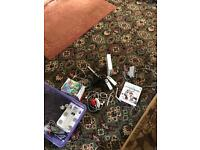 Wii console & loads of extras