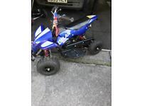 Kids 50cc quad bike x 2