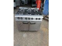 6 burner gas cooker falcon six burner Nat gas oven commercial heavy duty cooker