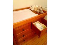 Mothercare Harrogate Wooden Changing Unit