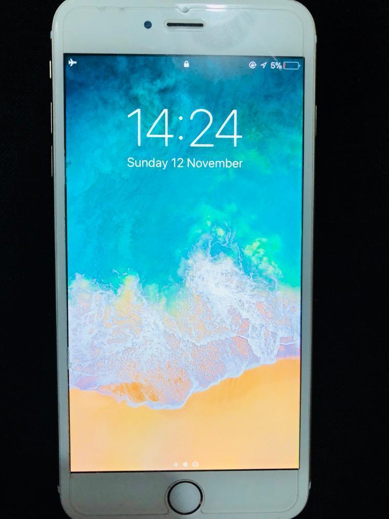 iPhone 6 plus 64gb gold UNLOCKED