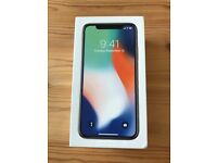 BRAND NEW BOXED APPLE IPHONE X 256GB SPACE GRAY