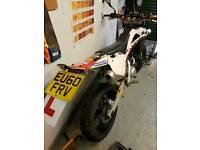 Husqvarna 125 sm4 2010 learner road legal