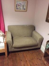Small 2 seater habitat sofa