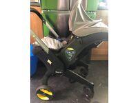 Doona car seat pram