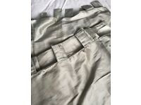Silver lined curtains