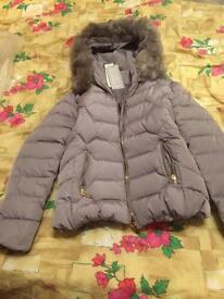 New Women's gray winter jacket