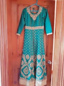 Asian/Pakistani/Indian dress with embroidery