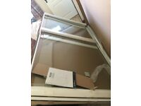 Brand New Bathroom 1100 x 1950 x 8mm Wet Room Glass Panel