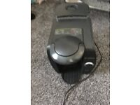 tassimo coffee machine by bosch with pod holder, disc cleaner and accesories bargain