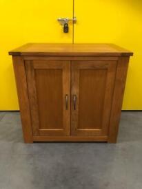 Next Cambridge solid oak sideboard - computer desk