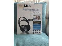 Philips wireless uhf headphones