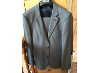 Men's wool blend suit.