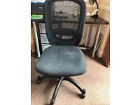 Mesh backed swivel IKEA desk chair! Excellent condition and value!