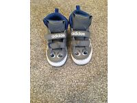 Infant boys hi-top adidas trainers (new)