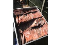Hand Made Peg Roof Tiles - Approx 250 ish.