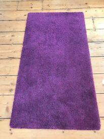 Purple Ikea Rug - 133 x 195cm - Good Condition, Must go ASAP