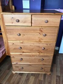 Chest off drawers for sale in vgc